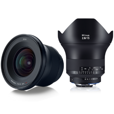 ZEISS Milvus 2.8/15 for Canon DSLR Cameras (EF-mount)